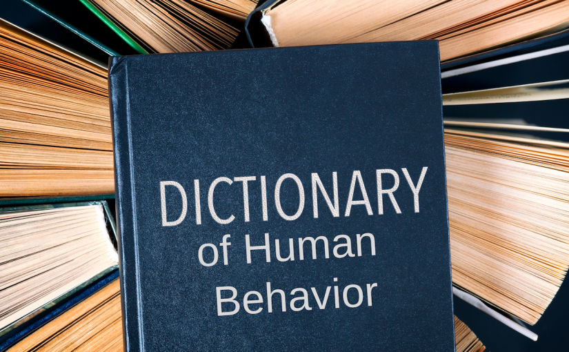 Dictionary of Human Behavior – The Affirmation Spot for Thursday March 13,2008