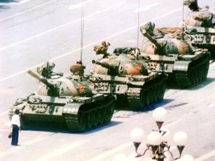 Tiananmen Square Tank Stand Off