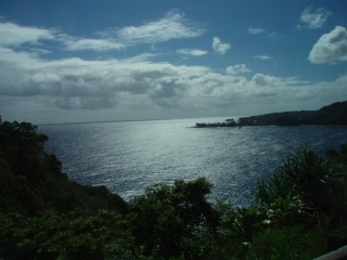 I call Maui the postcard island because there is a postcard shot everywhere you look. Outlook on the Road to Hana