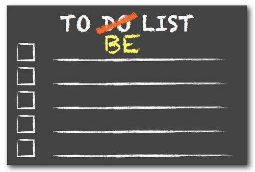Your To Be List – The Affirmation Spot for Thursday October 20,2011