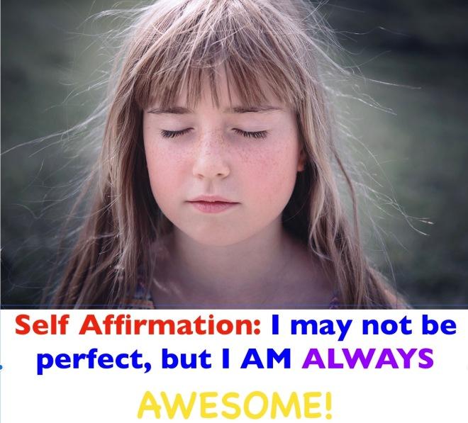 I am always awesome affirmation