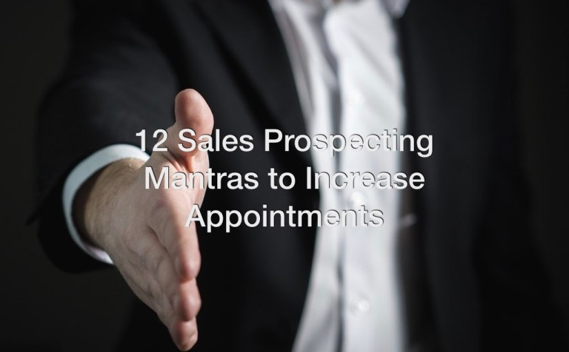 Sales Affirmations – 12 Mantras for Successful Sales People