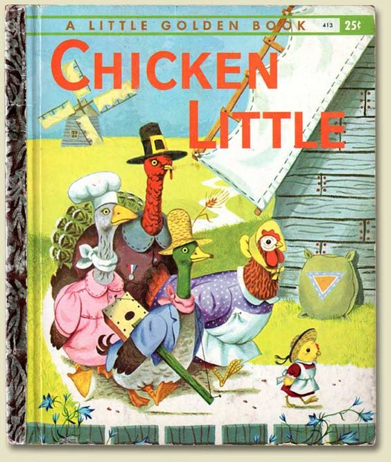 Chicken Little 2.0 – Day 132 of 365 Days to a Better You