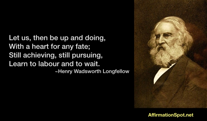 Longfellow Quote Achievement