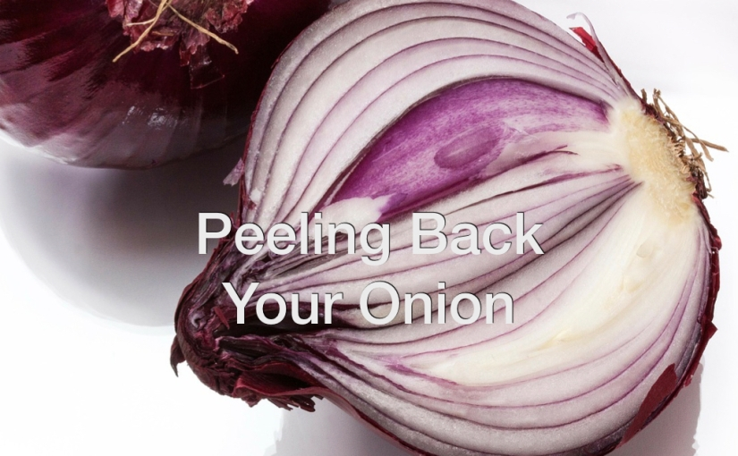 Peeling Back Your Onion – Day 137 of 365 Days to a Better You