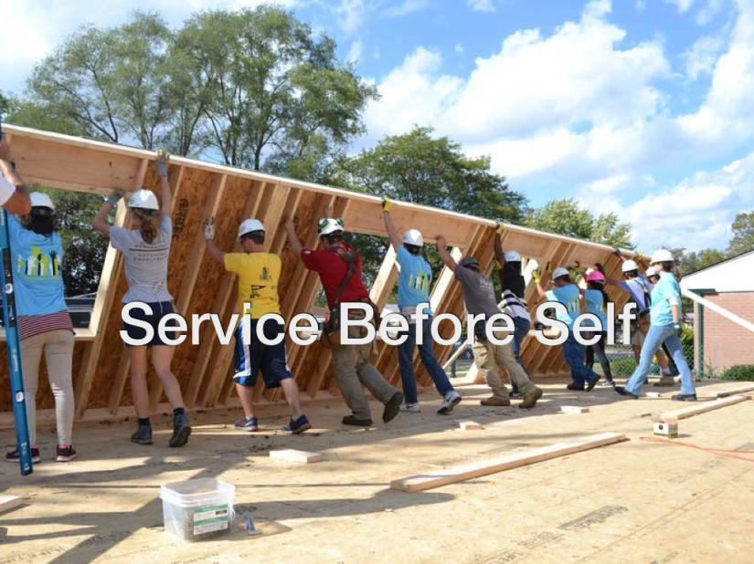 Service Before Self – Day 135 of 365 Days to a Better You