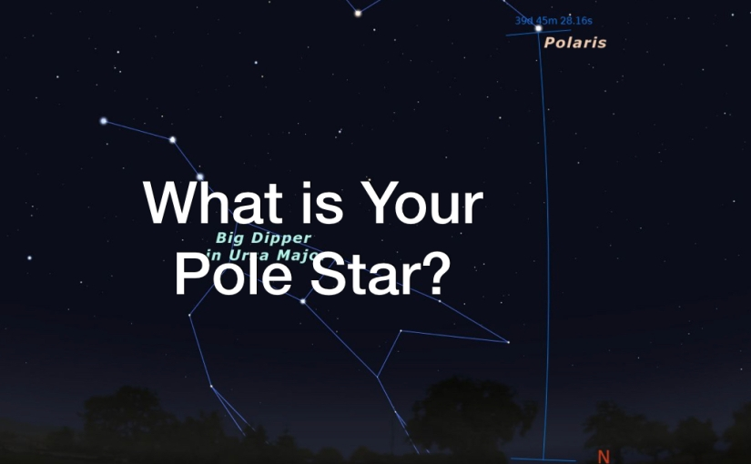 What is Your Pole Star? – Day 130 of 365 Days to a Better You