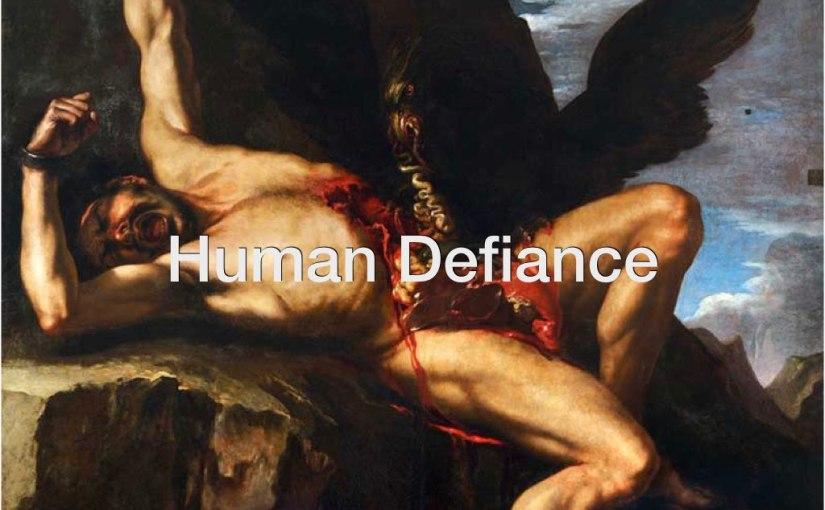 Human Defiance – Day 175 of 365 Days to a Better You