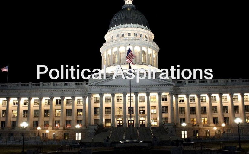 Political Aspirations – Day 174 of 365 Days to a BetterYou