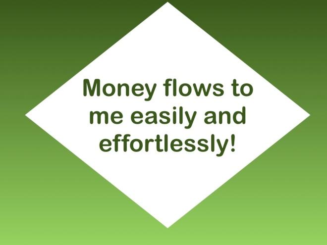 Money Affirmation – The Affirmation Spot Blog