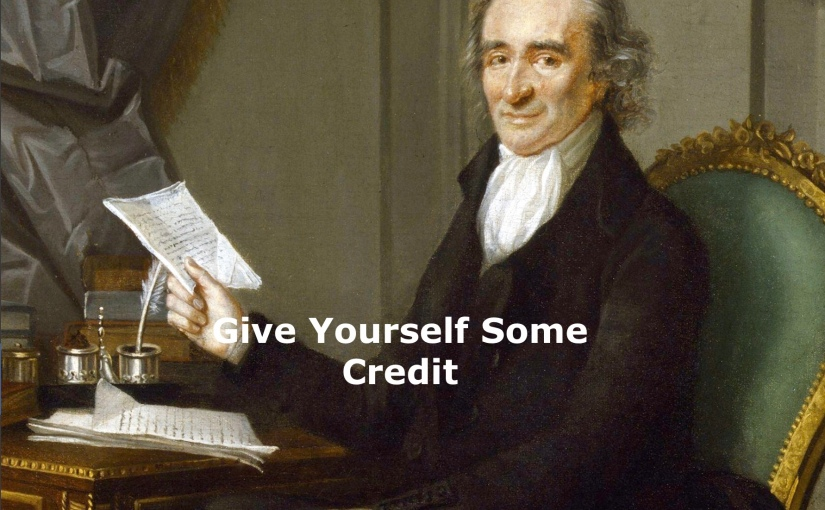 Give Yourself Some Credit – Day 217 of 365 Days to a Better You