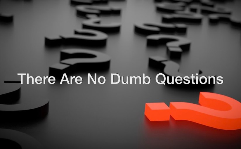 There Are No Dumb Questions – Day 209 of 365 Days to a BetterYou