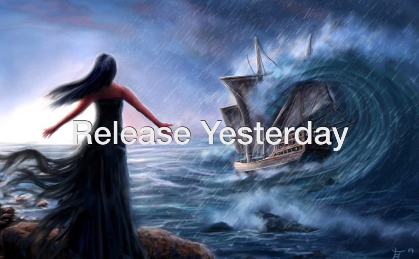 Release Yesterday – Day 212 of 365 Days to a Better You