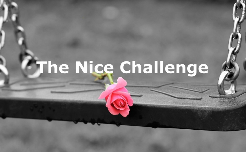 A Nice Challenge – Day 235 of 365 Days to a Better You