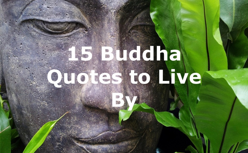 15 Buddha Quotes to Live By – Day 251 of 365 Days to a Better You