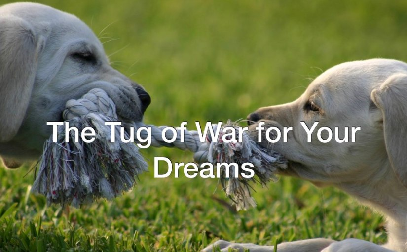 Tug of War for Your Dreams – Day 257 of 365 Days to a Better You