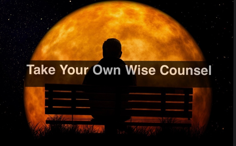 Take Your Own Wise Counsel – Day 282 of 365 Days to a BetterYou