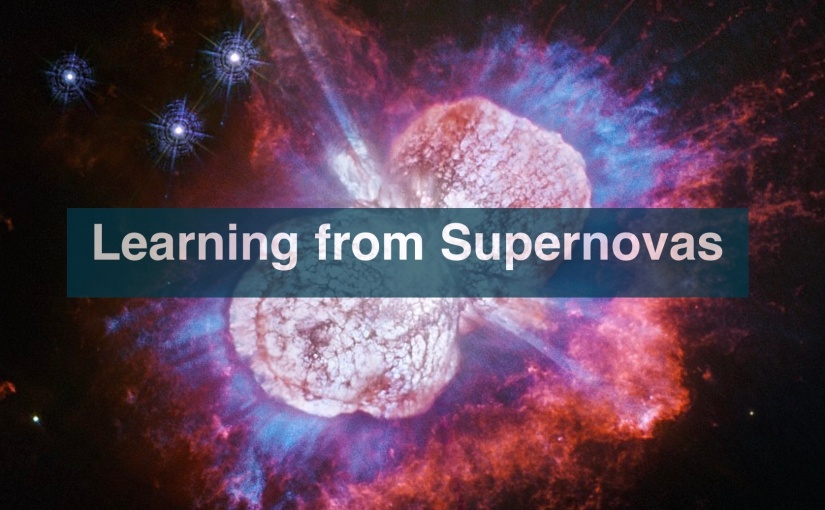 Learning from Supernovas – Day 292 of 365 Days to a Better You