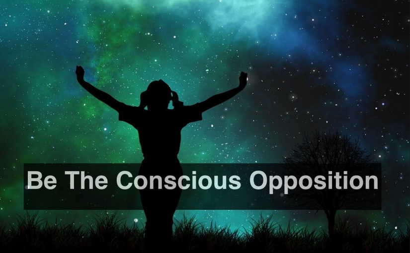 Be The Conscious Opposition – Day 300 of 365 Days to a Better You