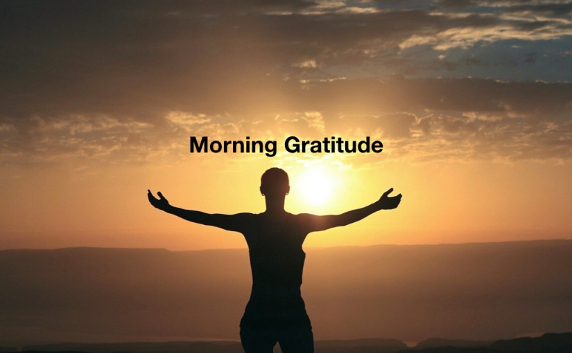 Morning Gratitude – Day 335 of 365 Days to a Better You
