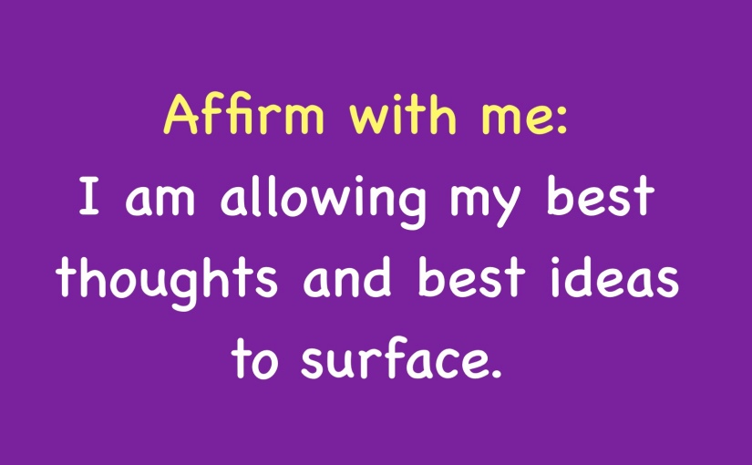 Affirmations for Dealing with Criticism