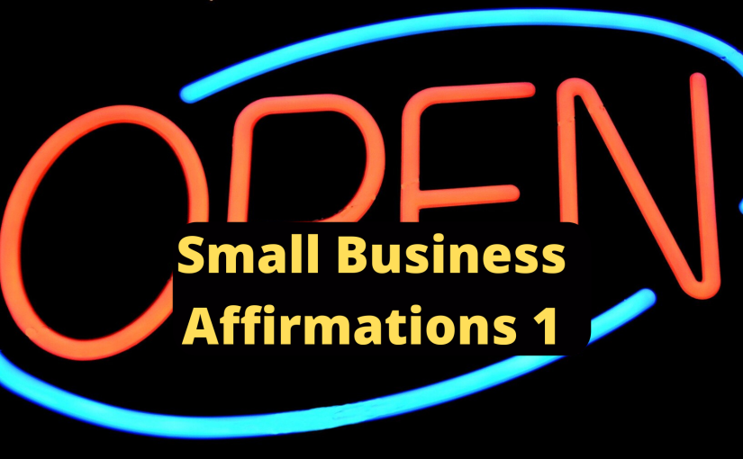 Small Business Affirmations 1 Video