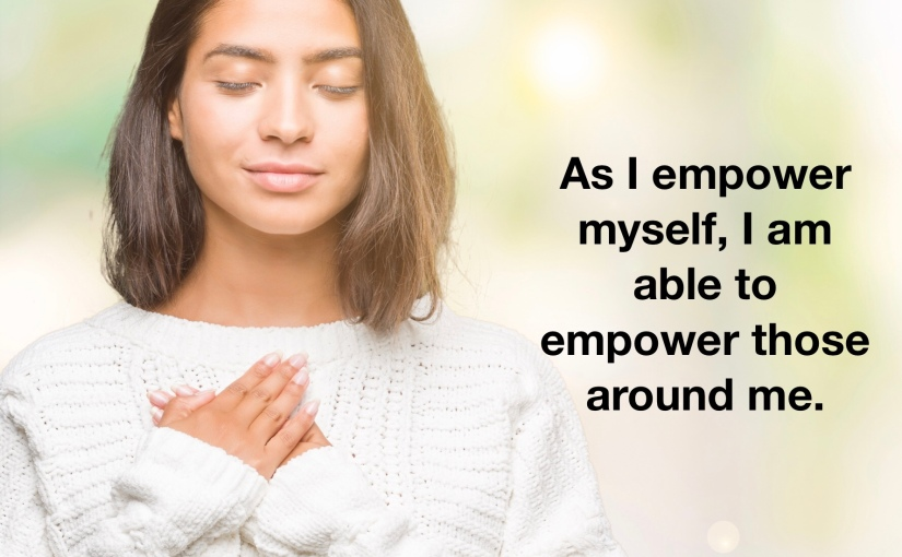 Three Affirmations for YourSaturday