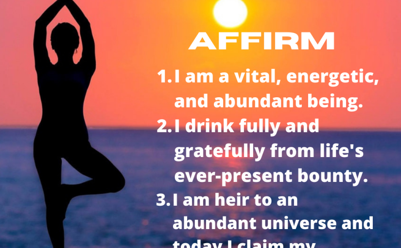 Wednesday Night Affirmations