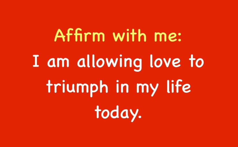 Allow It Affirmations